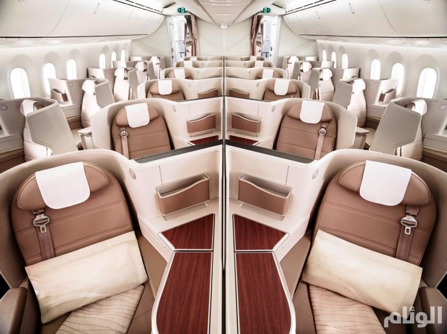 شاهد: أسطول السعودية يستقبل طائرة جديدة