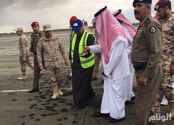 اسقاط طائرة استطلاع حوثية في مطار أبها