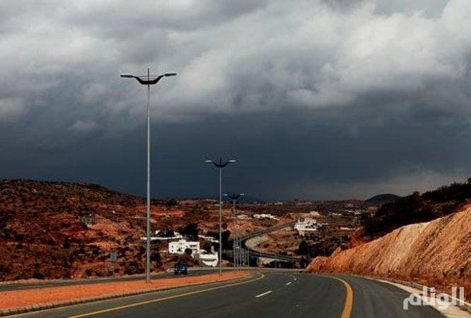 الارصاد: هطول أمطار رعدية بمكة وجازان والباحة