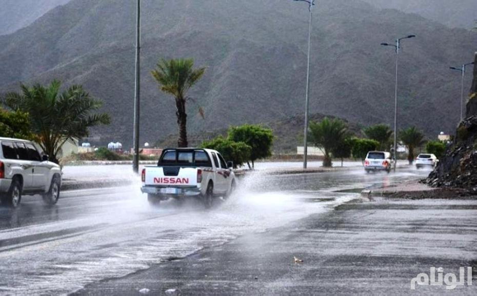 حالة الطقس: أمطار رعدية في الباحة وجازان