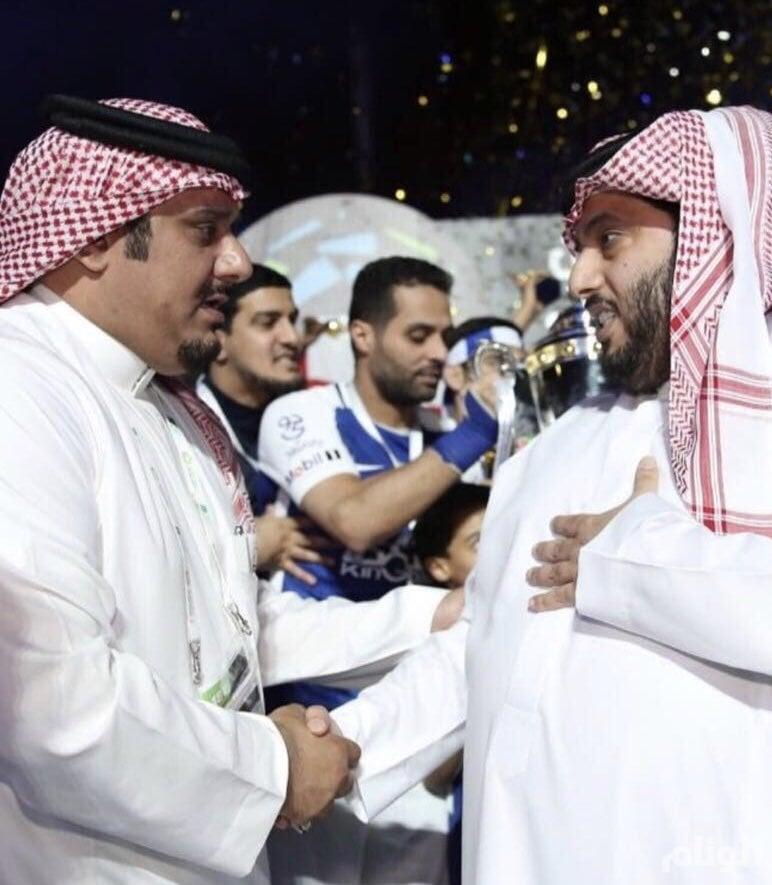 استقالة نواف رئاسة نادي الهلال