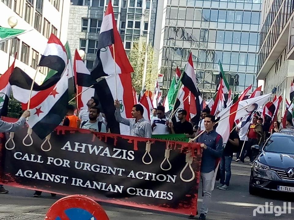 الأحوازيون يحيون ذكرى الاحتلال الإيراني بمختلف عواصم العالم
