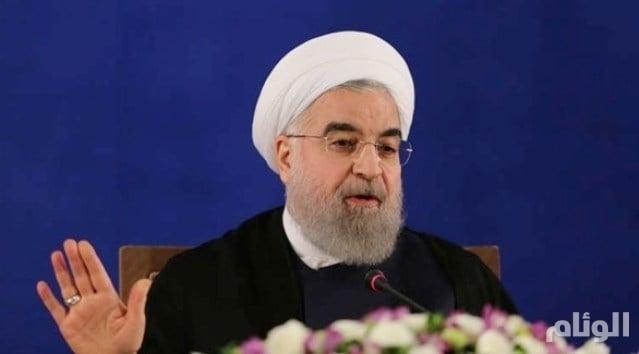 """بعد مهاجمة معارضي """"الملالي"""".. إرباك دبلوماسي لإيران خلال زيارة روحاني إلى أوروبا"""