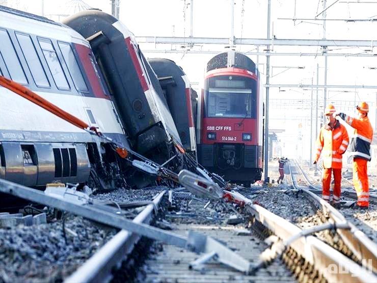 إصابة العشرات بتصادم قطارين في النمسا