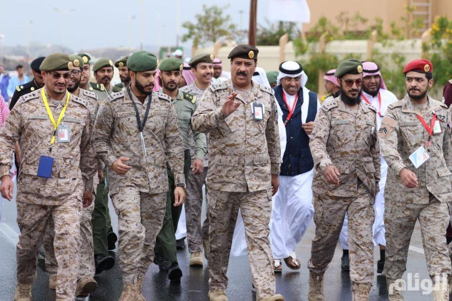 مستشفيات القوات المسلحة بالطائف تختتم فعالية رياضة المشي