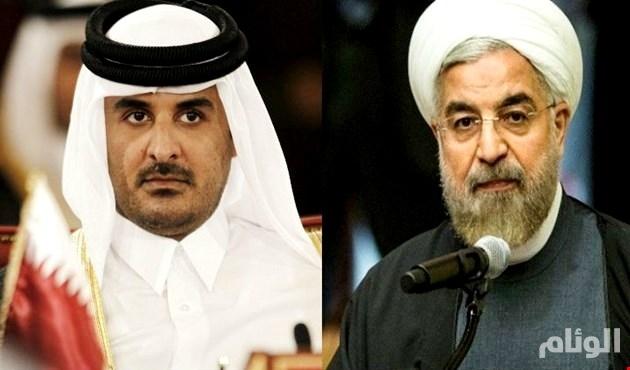 الدوحة في أحضان طهران: الحمدين وإيران يدشنان مشروعاً إعلامياً لتدمير الخليج