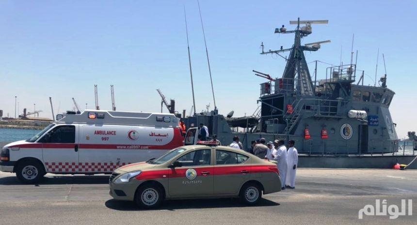«حرس الحدود» ينقذ بحاراً روسياً تعرض لأزمة قلبية