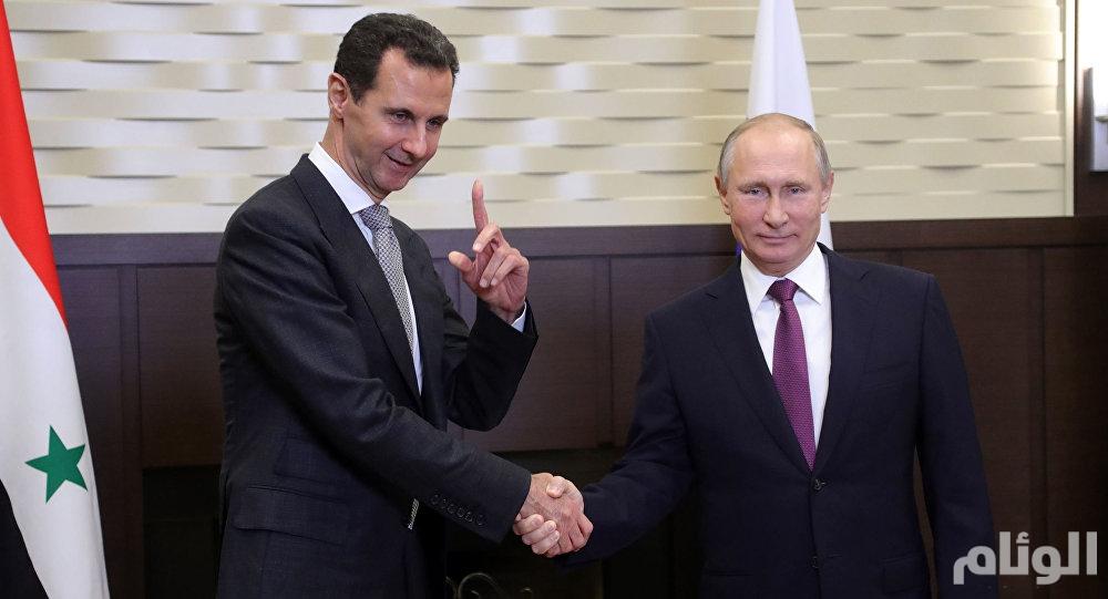 بوتين يلتقي بشار الأسد في سوتشي
