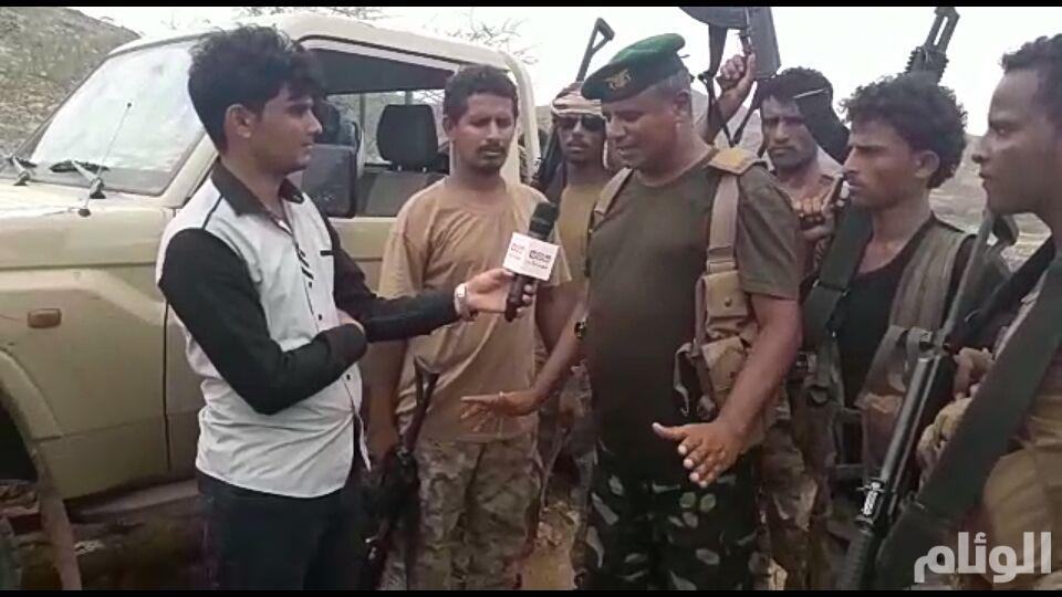 الجيش اليمني مسنودا بالتحالف العربي يطهر منطقة حرض بالكامل من ميليشيا الحوثي