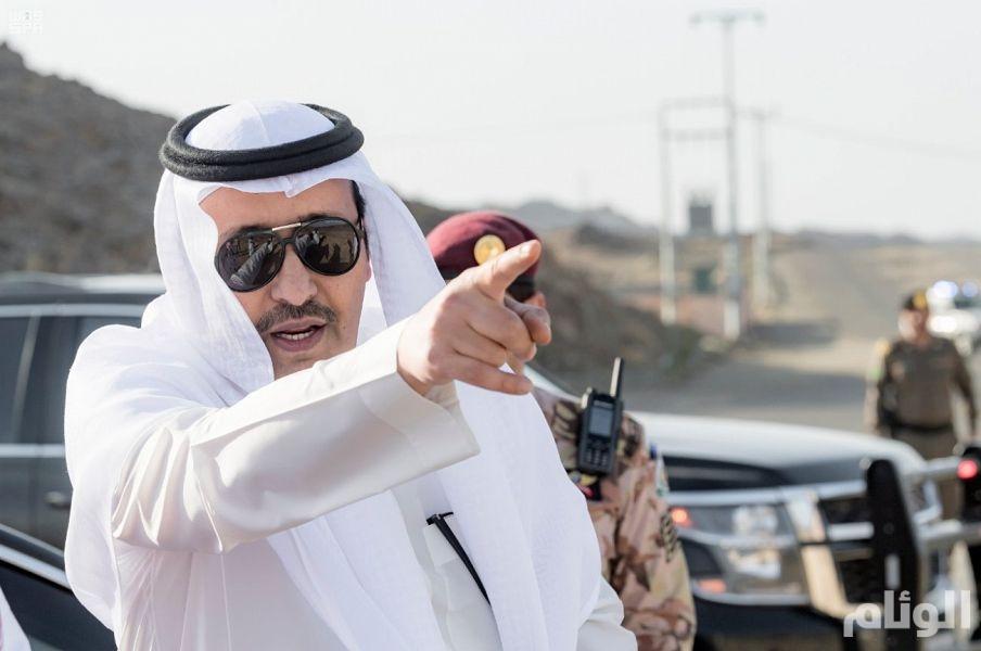 أمير الباحة يأمر بالفتح الفوري لطريق جرد-العقيق