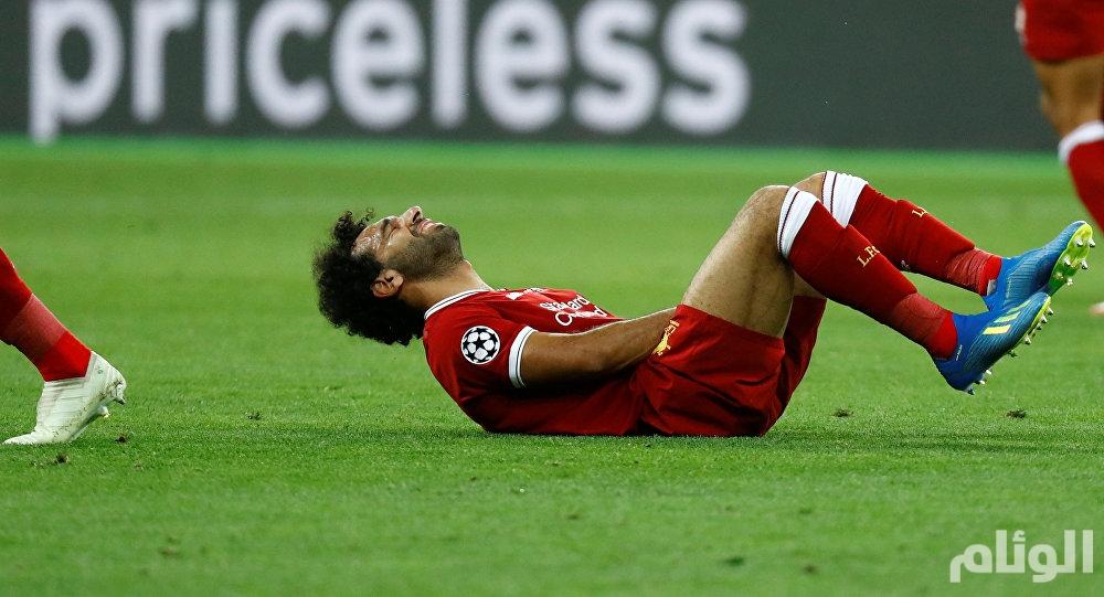 """مدرب ليفربول يكشف مدى خطورة  إصابة """"صلاح"""""""