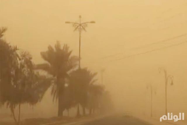 الأرصاد: موجة غبار تضرب 7 مناطق بالمملكة غدا