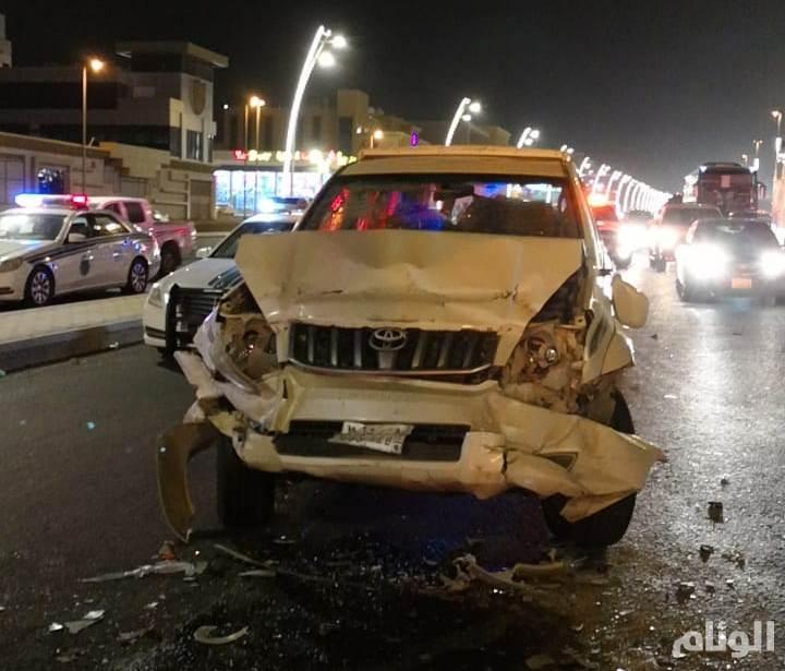وفاة وإصابة «8» أشخاص بحادث مروع بمكة