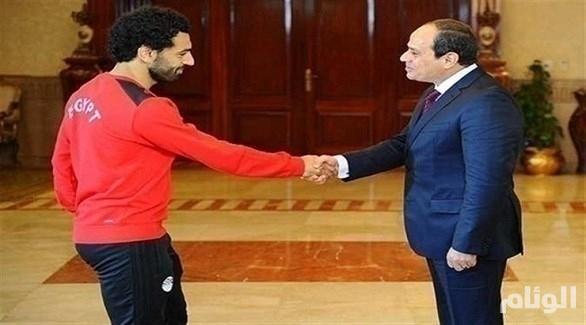 السيسي لمحمد صلاح: أتمنى لك الشفاء العاجل