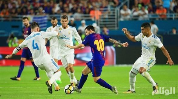 ريال مدريد يسعى لتعكير موسم برشلونة في كلاسيكو الأرض