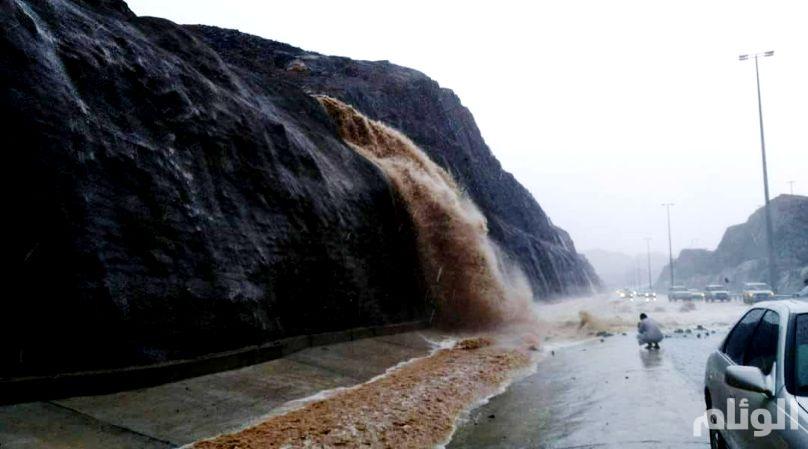 هطول أمطار رعدية بعدة مناطق سعودية