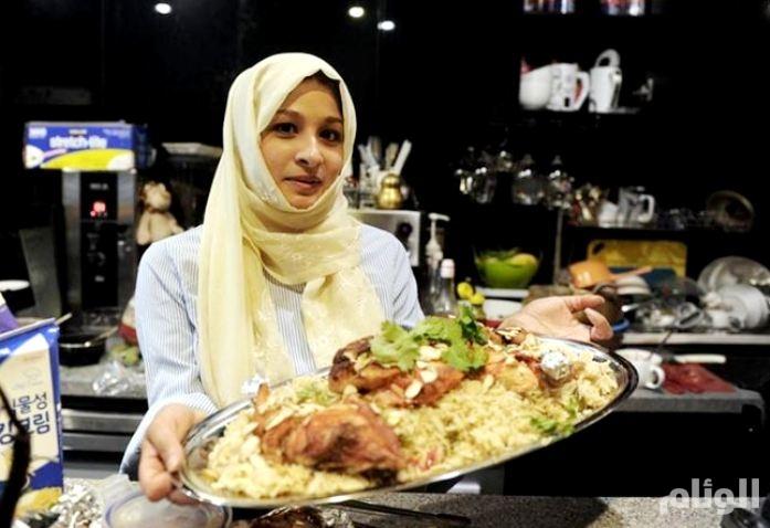 شاهد: فتاة سعودية تفتتح مطعماً في كوريا الجنوبية