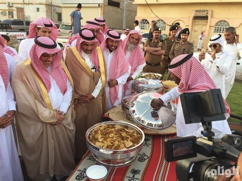 """محافظ عفيف يدشن فعاليات مهرجان """"عفيف العود"""" التراثية"""