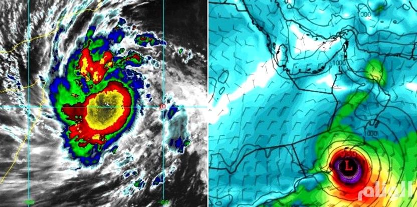 «مكونو» تتحول إلى إعصار يضرب مناطق سعودية