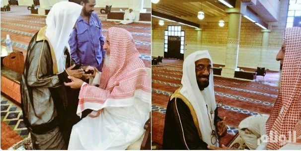 وفاة الشيخ عبدالرحمن بن ماجد مؤذن جامع الإمام تركي