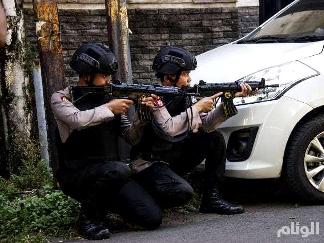 الشرطة الإندونيسية تقتل «3» رجال بعد هجوم على مقرها