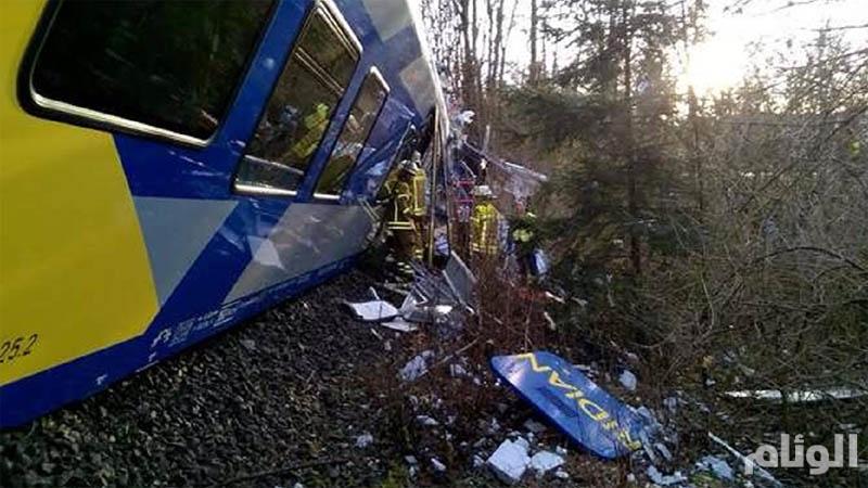 مصرع وإصابة «16» شخصاً بتصادم قطارين جنوبي ألمانيا