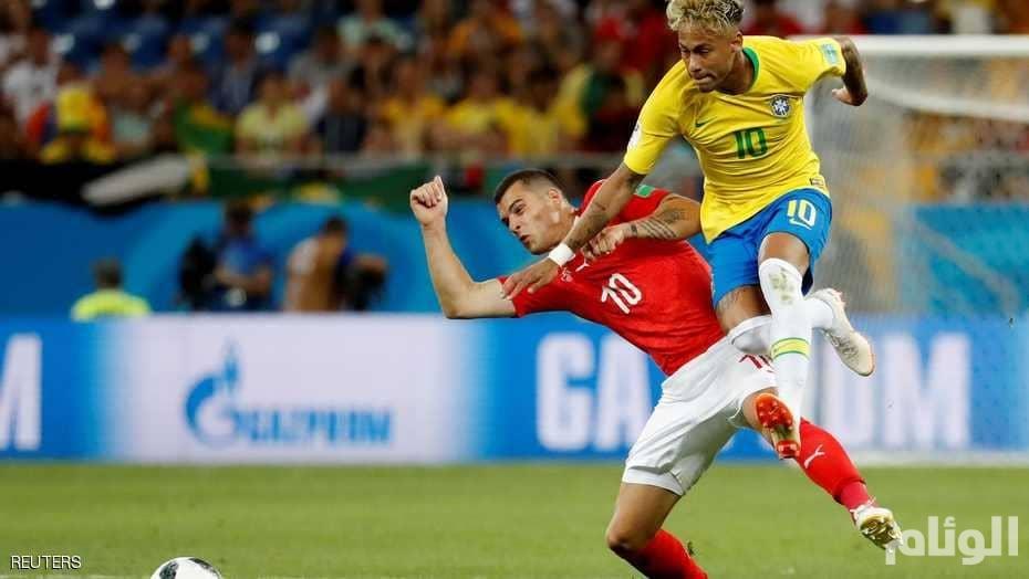 البرازيل تتعثر أمام سويسرا