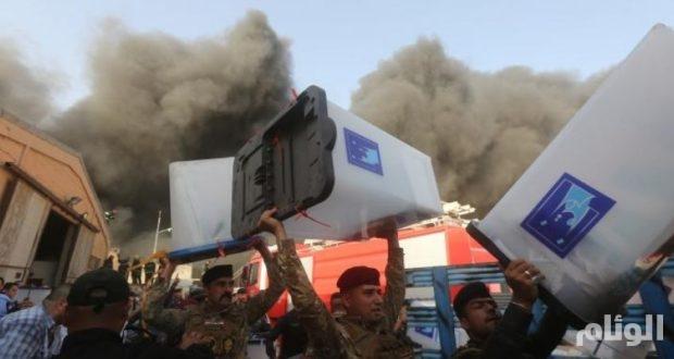 العراق .. لجنة تقصي الحقائق تكشف عن مفاجأة بشأن حريق صناديق الاقتراع