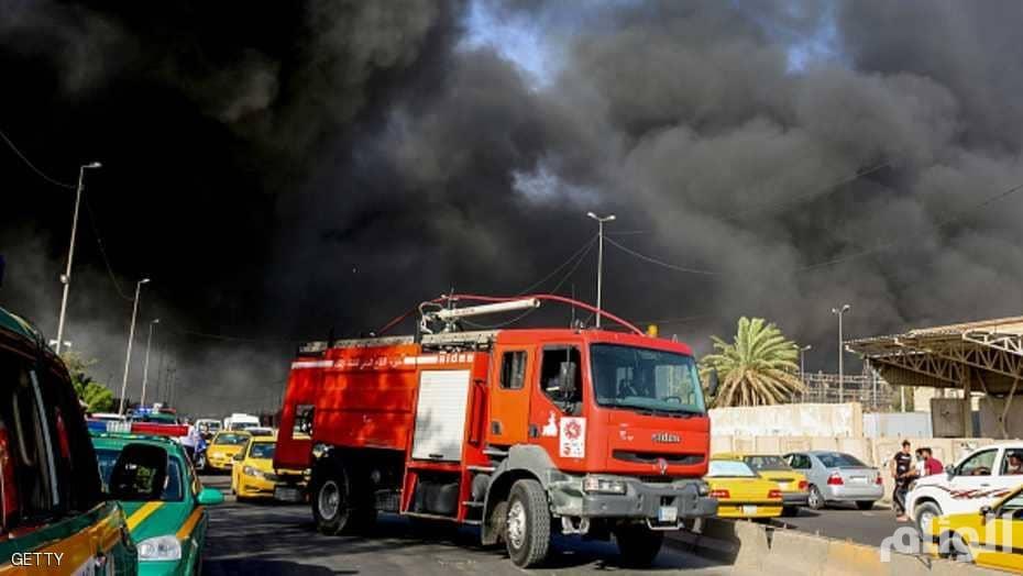 """القضاء العراقي يأمر بتوقيف 3 شرطيين وموظف بتهمة """"حرق مخازن صناديق الاقتراع"""""""