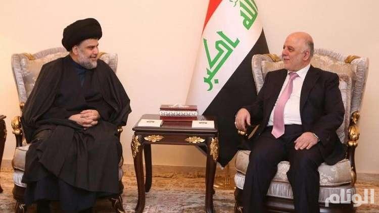تحالف انتخابي بين كتلتي العبادي و الصدر في العراق