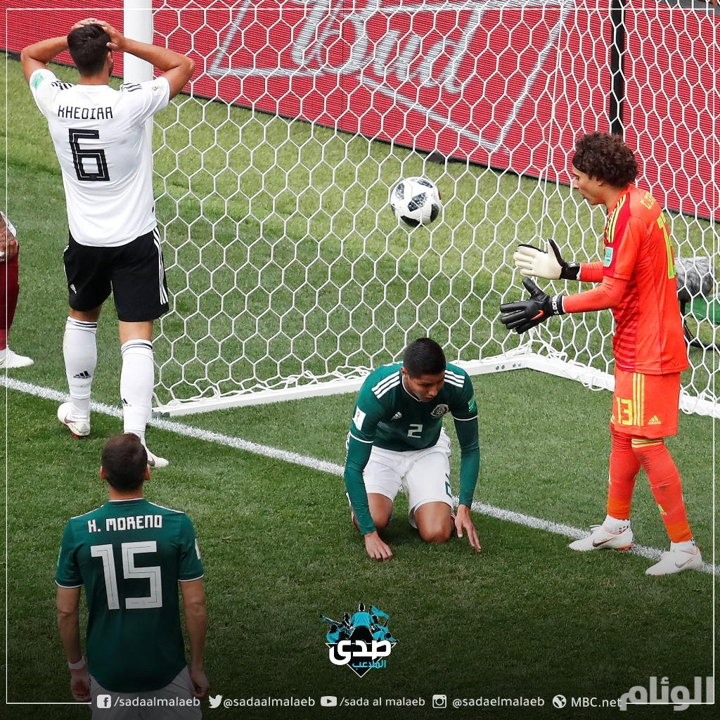 ظاهرة غريبة تشهدها مباراة ألمانيا و المكسيك