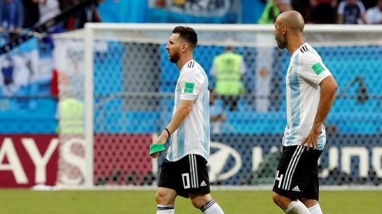 نجم الأرجنتين : حان الوقت لأقول وداعا