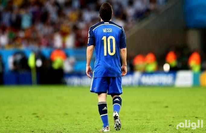 ميسي يبتعد عن منتخب الأرجنتين