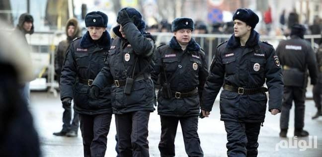 إجلاء 500 شخص بحريق المركز التجاري الروسي