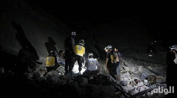 طائرات حربية سورية تدمر مستشفى أطفال بريف إدلب