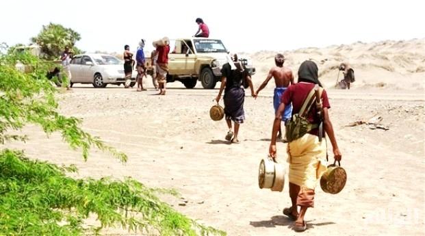 الحوثيون يزرعون الألغام في مناطق آهلة بالسكان