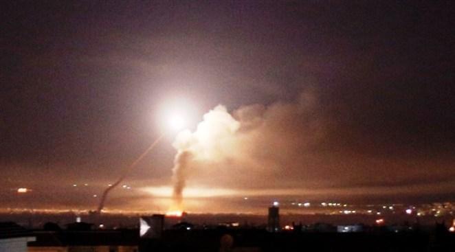 صواريخ إسرائيلية تستهدف حزب الله قرب مطار دمشق