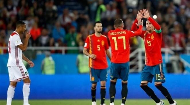 إسبانيا تشكر «الحظ» بعد تصدر مجموعتها في المونديال