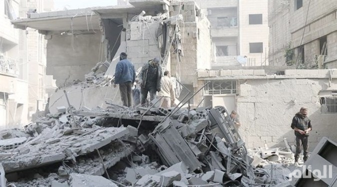 «44» قتيلاً بغارات روسية على إدلب