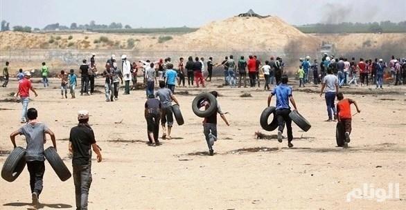 عشرات الإصابات خلال «مليونية القدس»