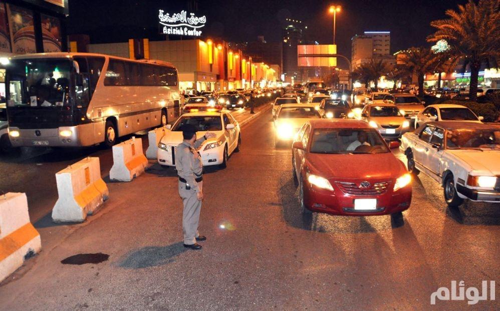 شاهد: نجاح ساحق لخطة المرور في العاصمة المقدسة