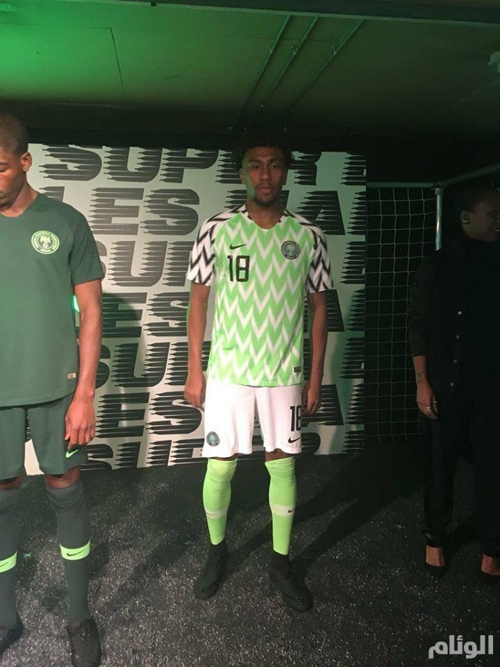 بالصور : أطقم المنتخب النيجيري تثير الإعجاب في مونديال روسيا