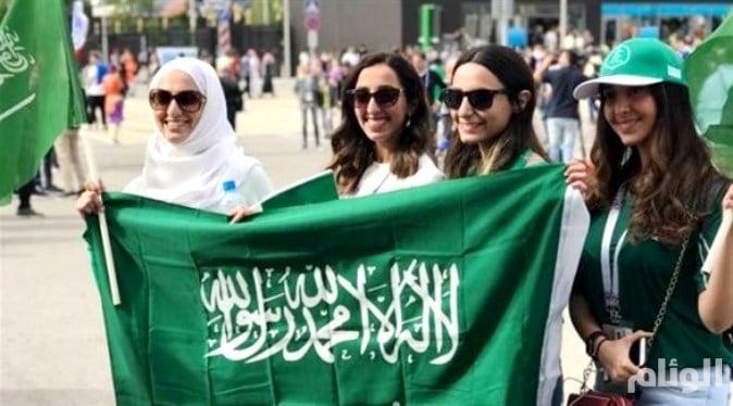 شاهد: سعوديات في روسيا يتحدثن بحماس عن كرة القدم