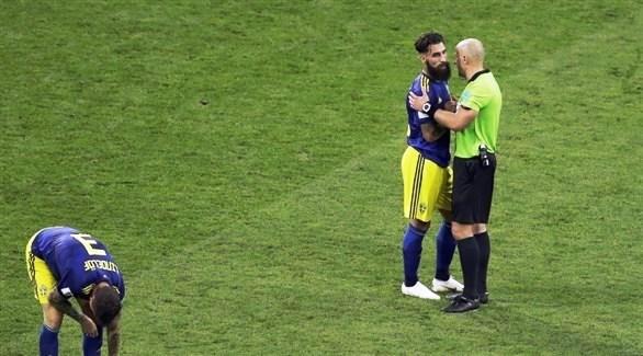تهديدات بالقتل للاعب منتخب السويد