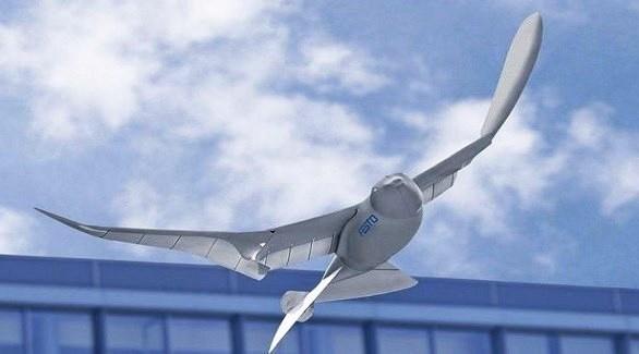 طائرات درون على هيئة طيور للتجسس على السكان