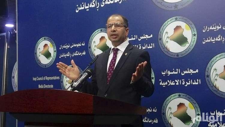 رئيس النواب العراقي: حريق مخازن المفوضية في بغداد متعمد وينبغي إعادة الانتخابات