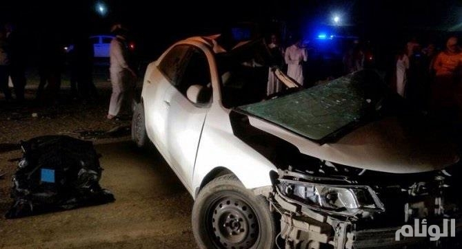 مصرع وإصابة 11 شخصا في حادثين منفصلين بعسير