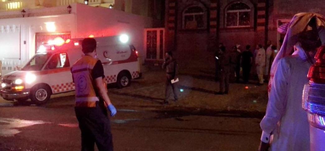 الطائف: إصابة 15 في حريق ونقل 10 منهم إلى المستشفى