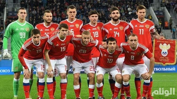 تلفزيون ألمانيا يفجرها: لاعبو منتخب روسيا تناولوا المنشطات في مباراتهم أمام السعودية