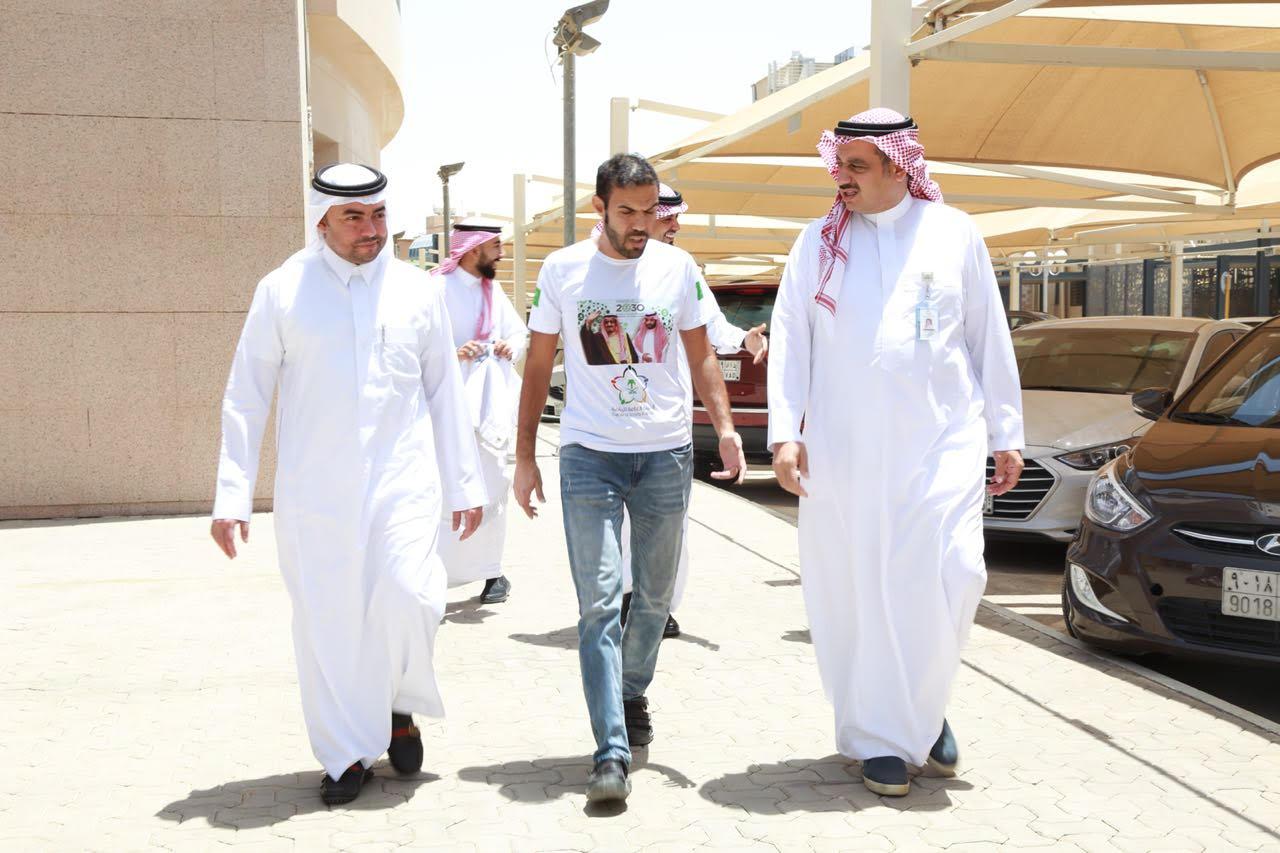 عودة «رحالة روسيا» لمدينة الملك سعود الطبية